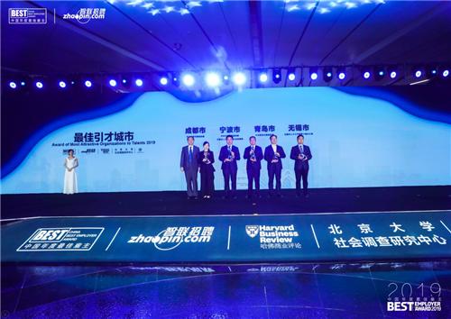 2019年度最佳引才城市榜单揭晓,青岛荣耀上榜