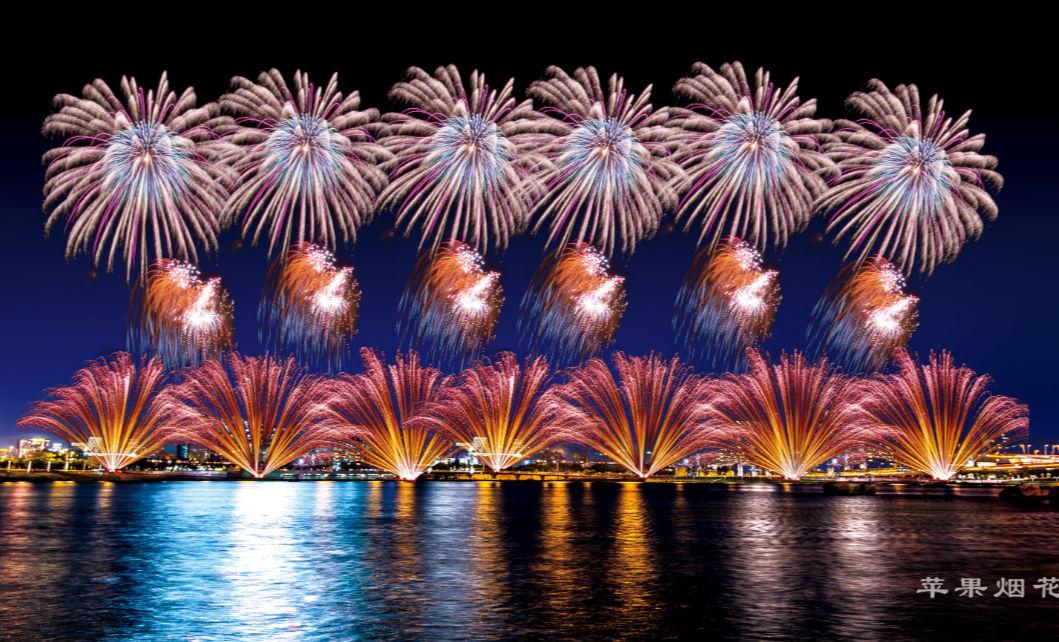 珠海澳門22日聯合舉行煙花匯演 共放30分鐘16萬枚