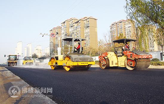 宿州改造道路增加绿化 助力文明