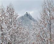 鸡冠洞迎来今冬初雪