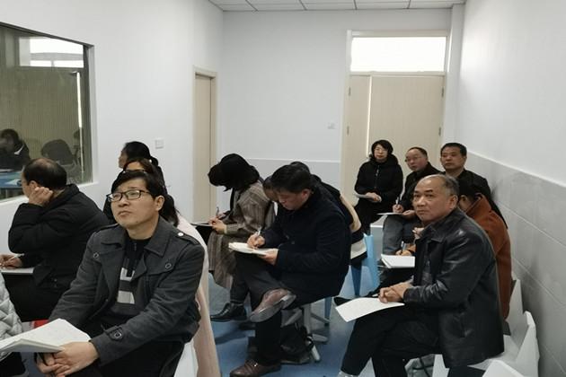 寿县瓦埠中学:送教下乡架金桥 城乡互动促提升