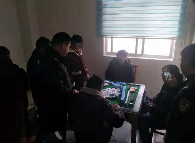 安徽臨泉一賭博窩點被端 參賭人員20人被行政處罰