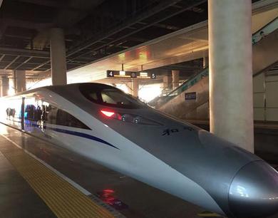 昌赣高铁正在试运行