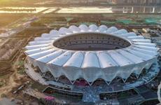 西安奥体中心明年6月竣工 主体育场能容纳6万人以上