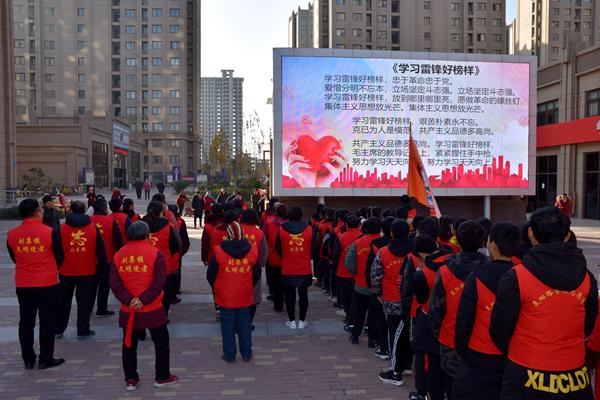 郑州绿博家苑社区:参与志愿服务获积分 还能兑换物品