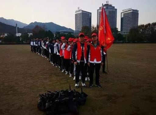 新县高级中学:国际志愿者日 我们在行动
