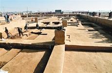 秦汉栎阳城遗址再现古人日常1.5分彩生活  近观商鞅变法的改革之城