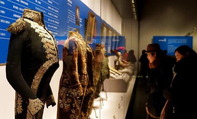 254件法国拿破仑时期文物走进河南郑州