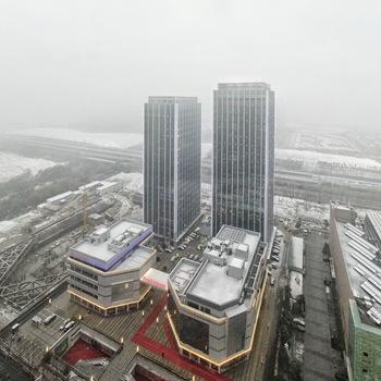 瑞雪兆丰年 合肥大雪来袭!