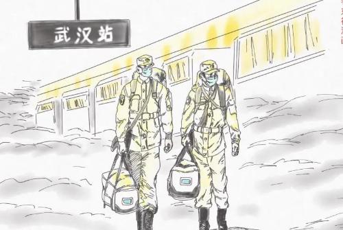 """九三学社澳门永利网站省社员创作漫画助力抗""""疫"""""""