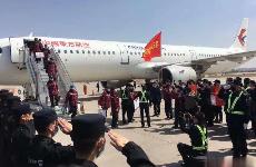 陕西第三批援鄂医疗队向西安博物院捐赠抗疫见证物