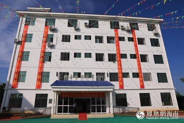"""定安县首所特殊教育学校揭牌成立 特殊儿童有了""""新家"""""""