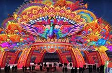"""唐""""潮""""文化盛宴春节开启 世界最高花灯即将亮相西安"""