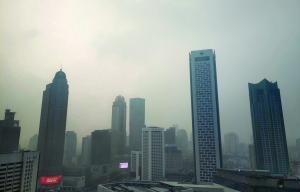 江苏连发大雾红色和霾橙色预警