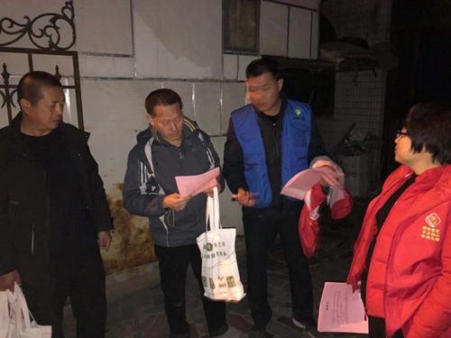 红色志愿行动,助力渭南村人居环境持续向好