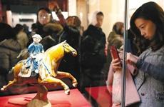 """去西安博物院观展览 看看唐长安人 如何""""乐居长安"""""""
