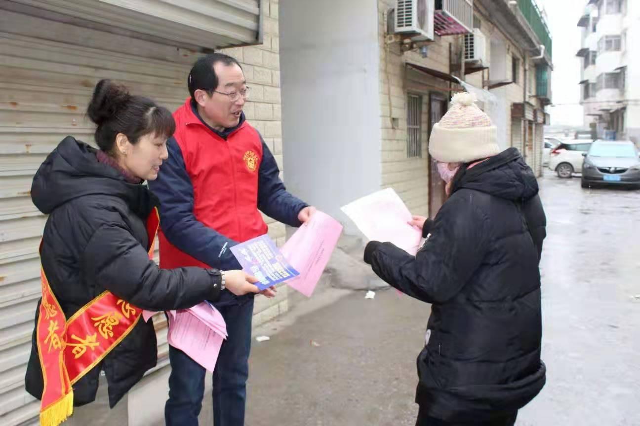 """泗县:""""禁燃禁放""""志愿服务 为欢度新春佳节营造良好氛围"""