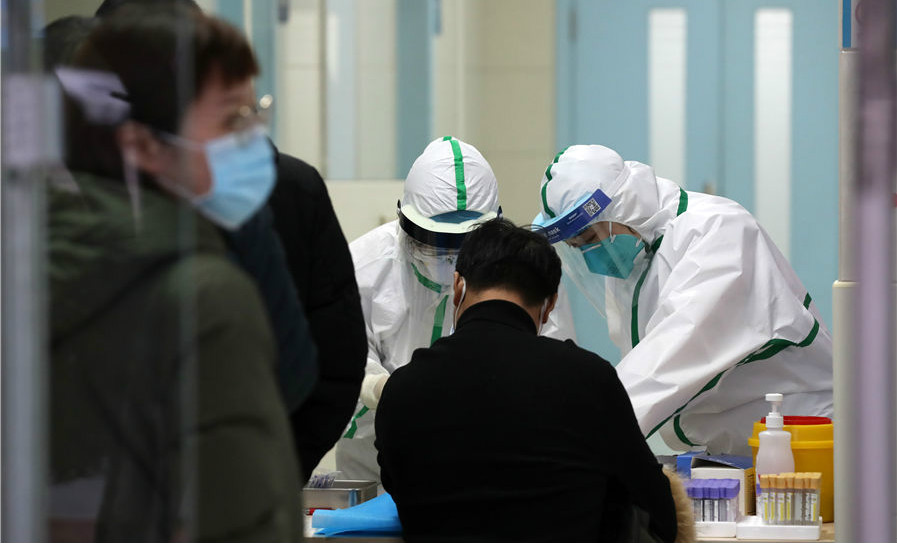 安徽在行动丨抗击疫情 最美健康守护者