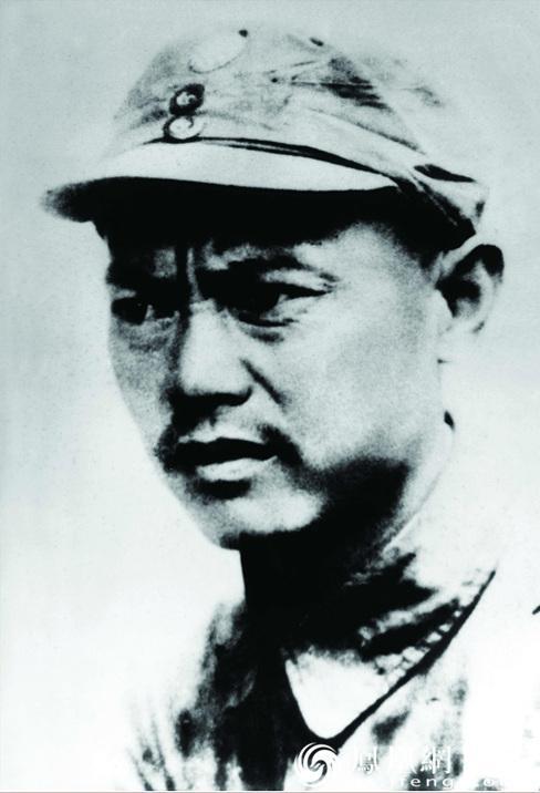 红30军政治委员李先念 永昌西路军西征纪念馆供图