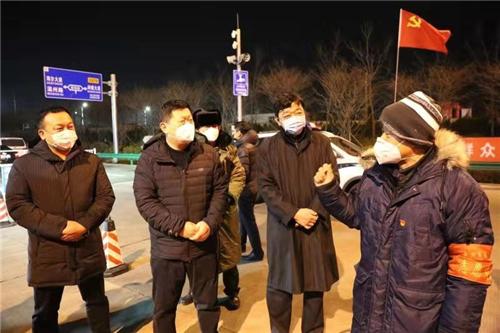 """山东胶州心语社:党旗引领战""""疫情"""""""