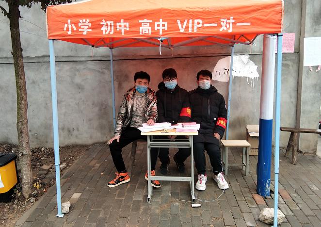 安徽庐江:社会力量助力抗击疫情