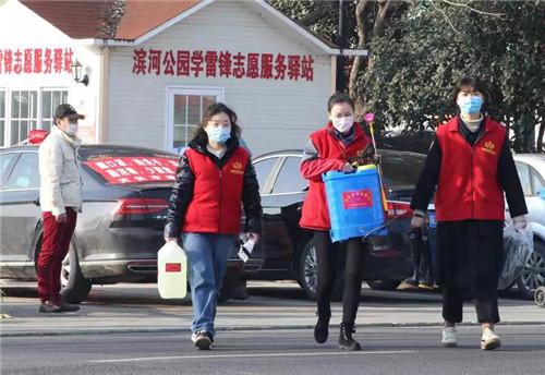 """安徽天长:汇聚志愿力量 携手共同""""战疫"""""""