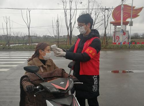 """馬鞍山市博望區選調生在戰""""疫"""""""
