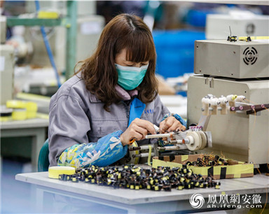 铜陵:企业复工 出口订单生产忙