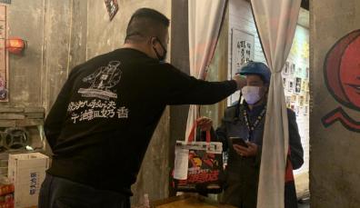 湖南近千家餐饮店首开外卖