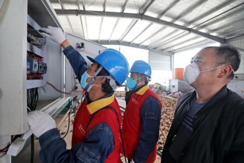 安徽望江供电:让扶贫产业用上放心电