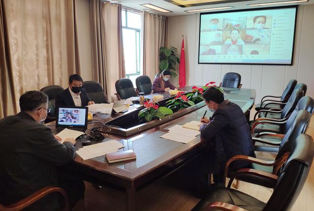 [转载]江西工贸职院迎接省教育厅疫情防控工作校际视频督查