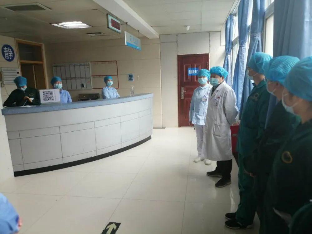 信阳职业技术学院附属医院新冠肺炎医疗救治专