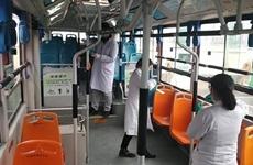 西安对100【Car】公交车进行采样监测 新冠【disease】毒核酸结果均为阴性