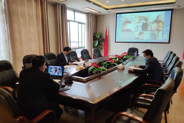 江西工贸职院牵头开展疫情防控工作校际视频督查