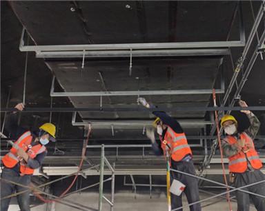 合肥地铁5号线南段车站公共区装修全面启动