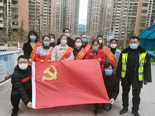 中国电信唐山分公司开展社区志愿服务活动