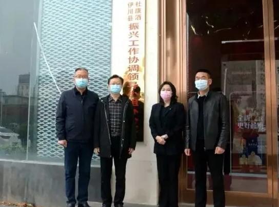 助力杜康振兴 伊川县成立杜康酒振兴工作协调领导小组