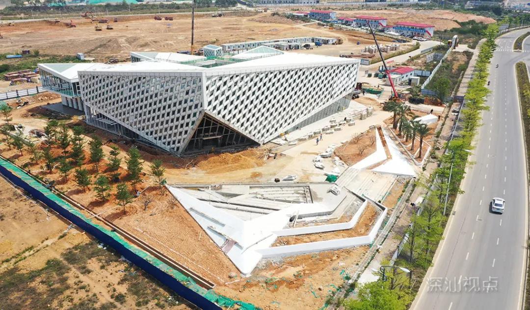 深投控深汕上葡京国际棋牌生态园园区展厅有望8月投入使用
