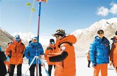 攀登者再出发 国测一大队8位队员将全力冲击珠峰峰顶