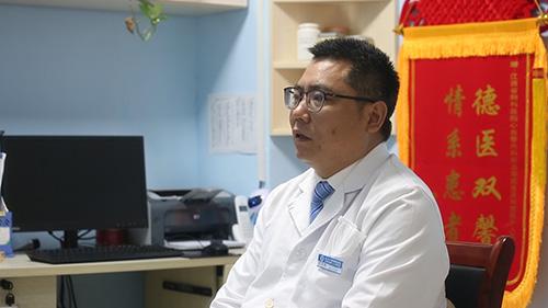 江西省胸科医院介入血管科负责人、副主任医师许玉华