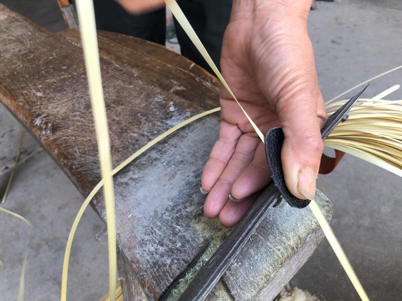 安徽怀宁:指尖上的篾匠活(组图