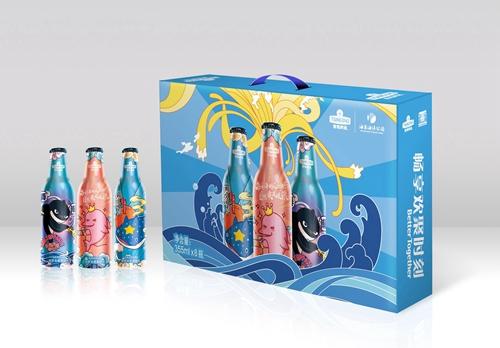 跨界牵手!青岛啤酒博物馆联合海昌海洋公园发布时尚新品