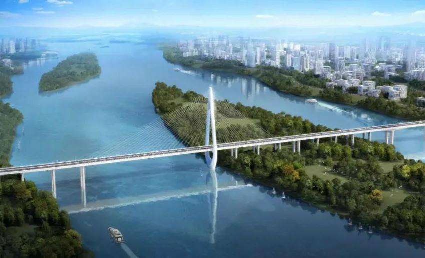 惊艳!长沙将再增一座过江大桥!