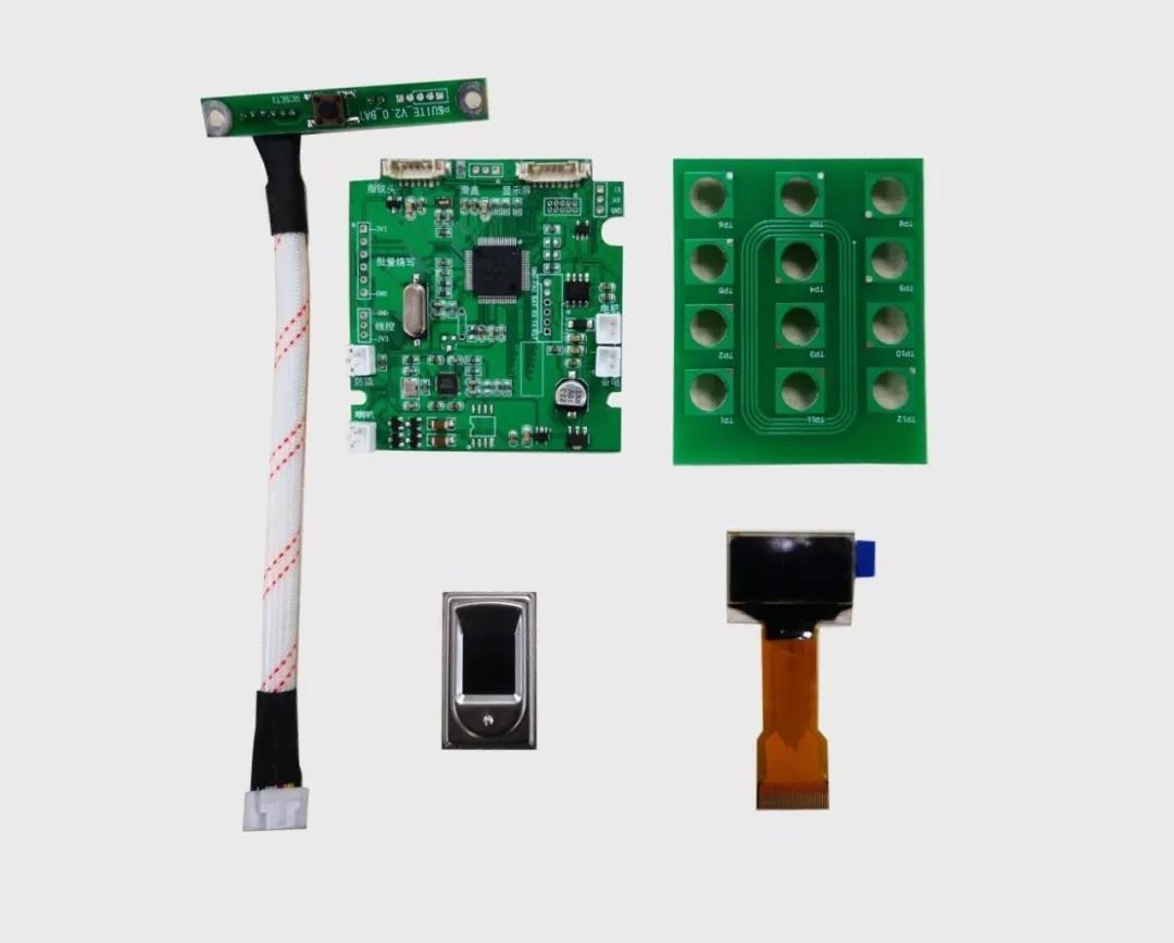 ▲图:基于龙芯中科1C101的智能锁解决方案。