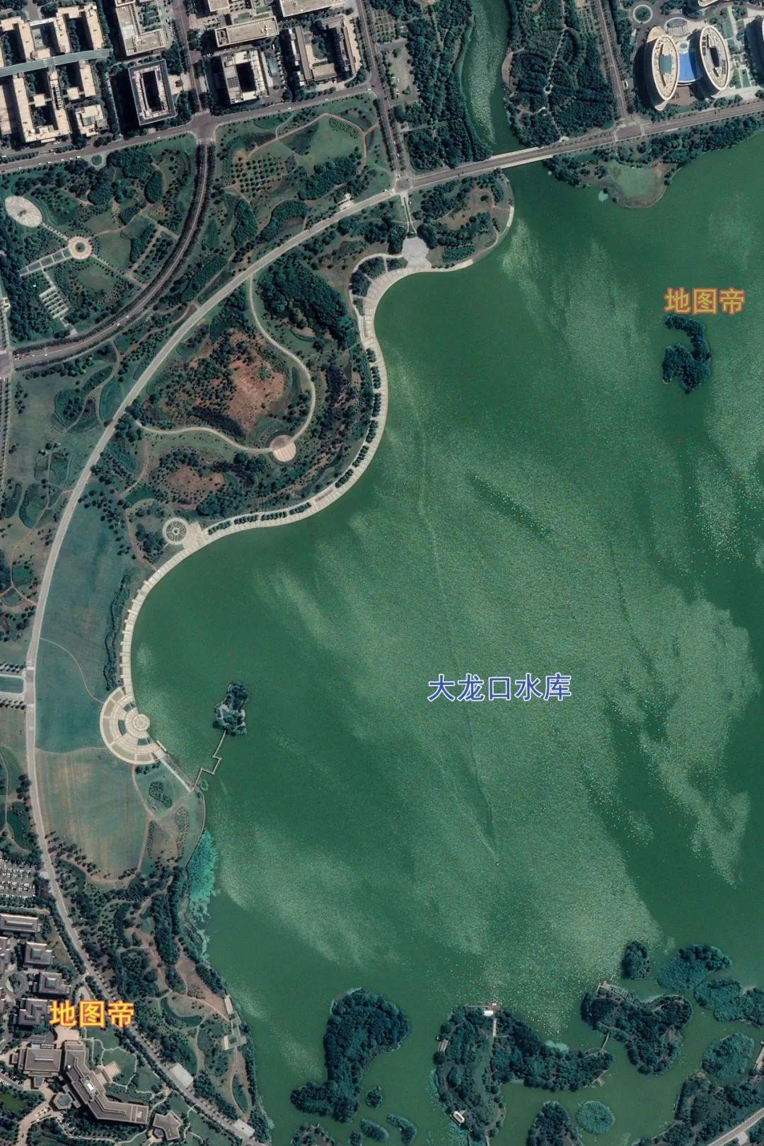 图-徐州大龙口水库航拍