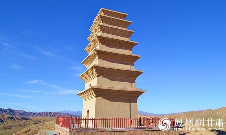 全国重点文物保护单位圣容寺塔 杨文远 摄
