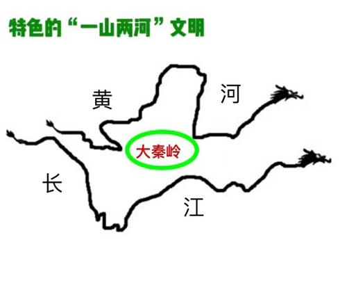"""大秦岭将黄河和长江""""合二为一"""""""