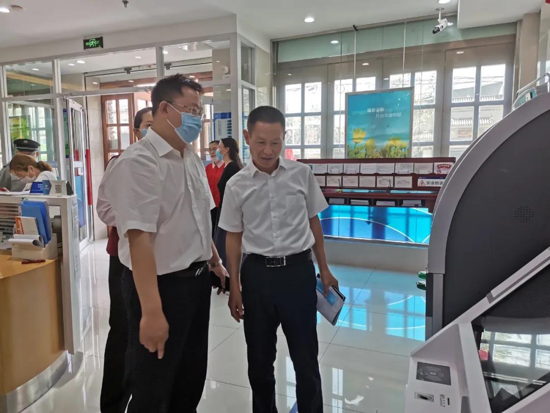 """【政银对接】长安区行政审批局与兴业银行开启了""""政银对接""""服务"""