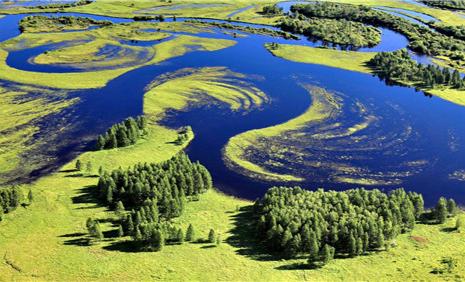 """全国最大省级湿地保护管理体系 """" width="""