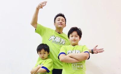 冉莹颖为邹市明庆父亲节 教育孩子要向父亲学习